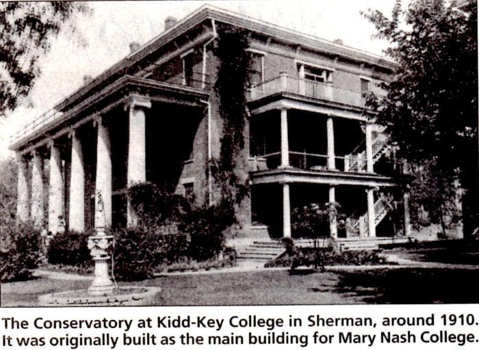 Kidd-Key College's Conservatory