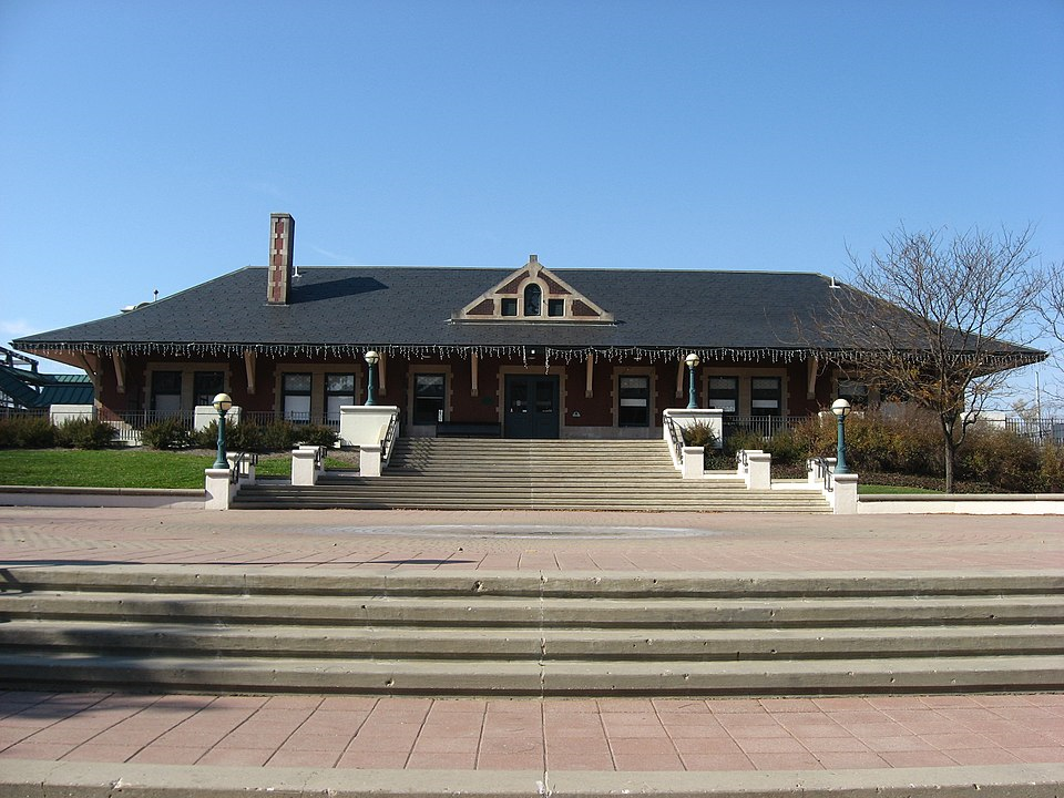 2009 photo of Big Four Railroad Depot by nyttend