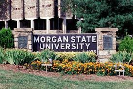 The current entrance of Morgan State University.