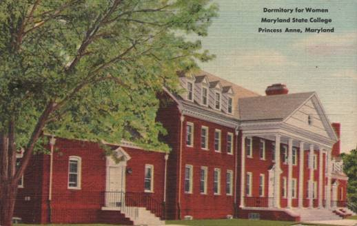 Murphy Hall was completed in 1943