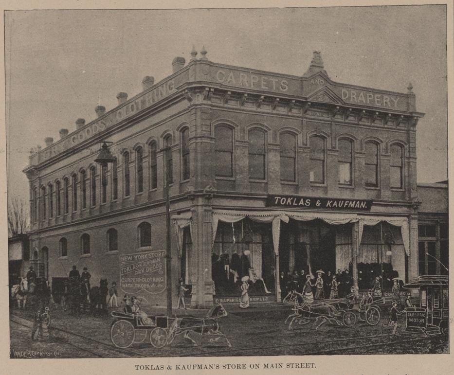 The building circa 1891