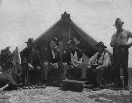 A picture of some Rough Riders