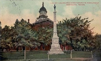 1876 Court House and Confederate Monument