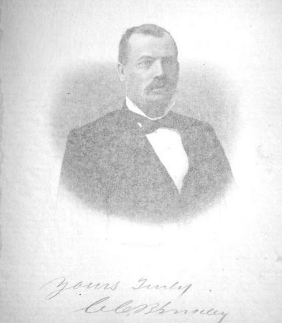 Judge C. C. Binkley. Born in Tennessee in 1827. Moved to Grayson County in 1853.