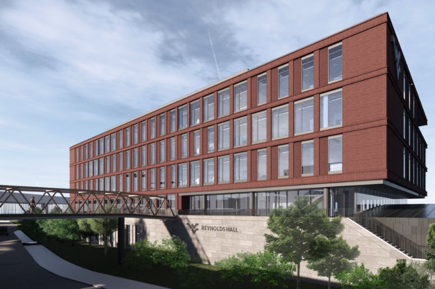 Rendering of the forthcoming Reynolds Hall
