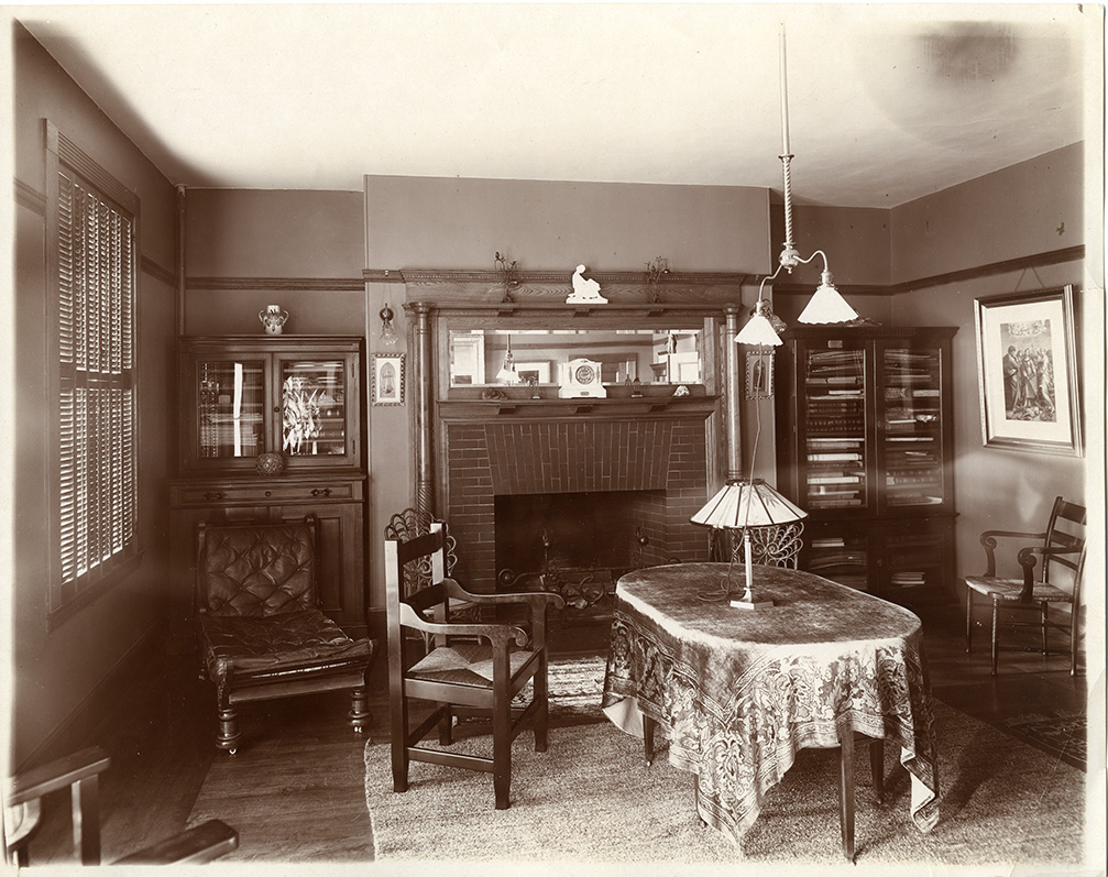 Draper Hall, senior parlor