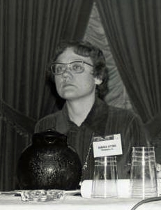 Barbara Gittings at a convention in 1972 by Kay Tobin Lahusen (reproduced under Fair Use)
