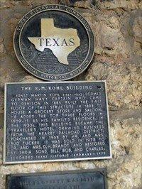 E.M. Kohl Building historical plaque