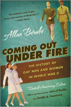 Book available for purchas on Amazon at link below for $27.56. Allan Berube writes about gays and their experiences with the military during the WWll era.