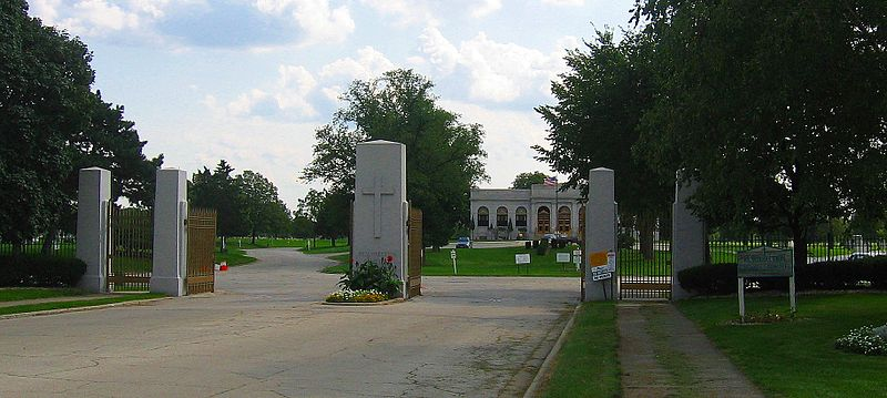 Resurrection Cemetery's Gate