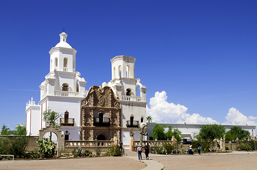San Xavier del Bac Mission as it appears today