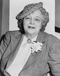 Little Review founder, Margaret C. Anderson in her later years.