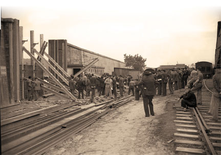 Construction of the wall