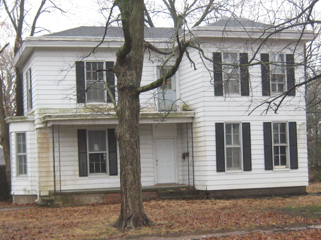 The house Irving lived in, 711 Beecher St.