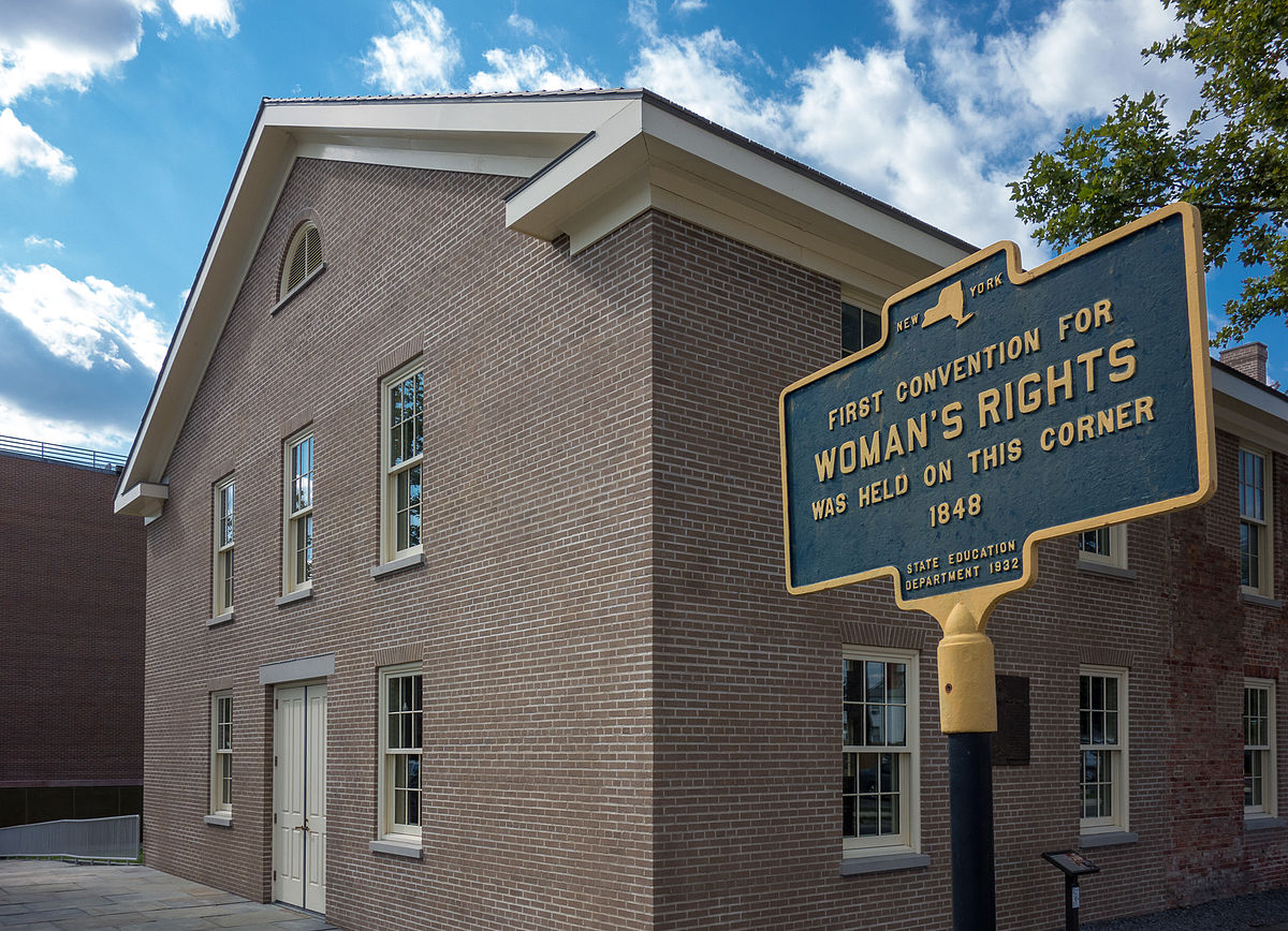 Wesleyan Chapel where the Seneca Falls Convention was held. Photo by Syracuse.com