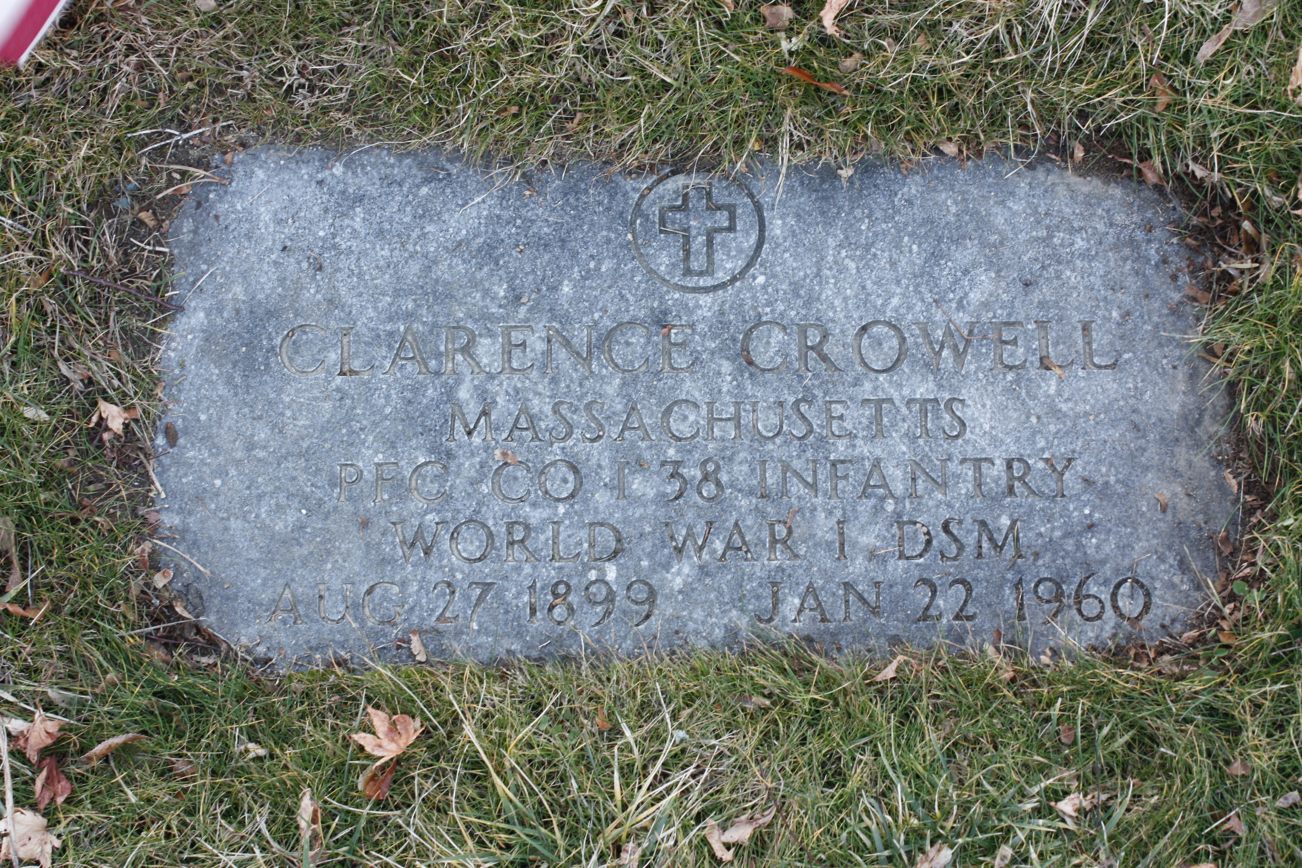 Clarence A. Crowell Grave