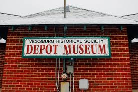 The Vicksburg Historical Society Depot Museum