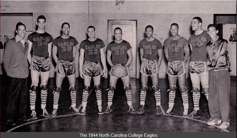 NCCU Eagles Basketball Team