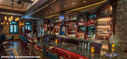 The bar at Club 33 is the only bar in Disneyland that serves alcohol.