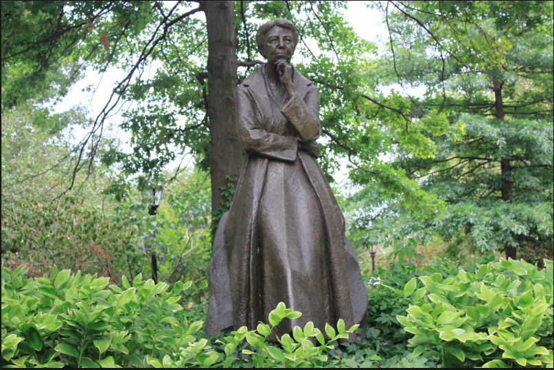 The Eleanor Roosevelt Monument in Riverside Park
