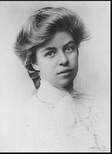 Eleanor Roosevelt school photo in 1898