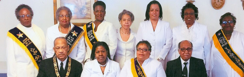 Naomi Chapter #10 members. A sister chapter of the Bright Hope Lodge.