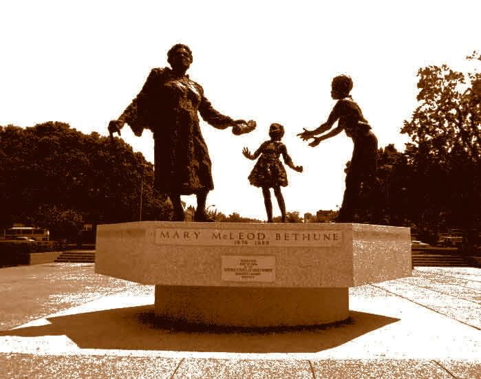 Mary Mcleod Bethune Statue in Washington DC