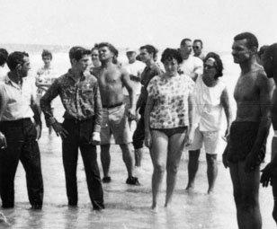 The scene on June 25, 1964