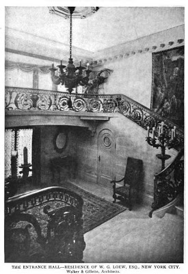One of the home's staircases