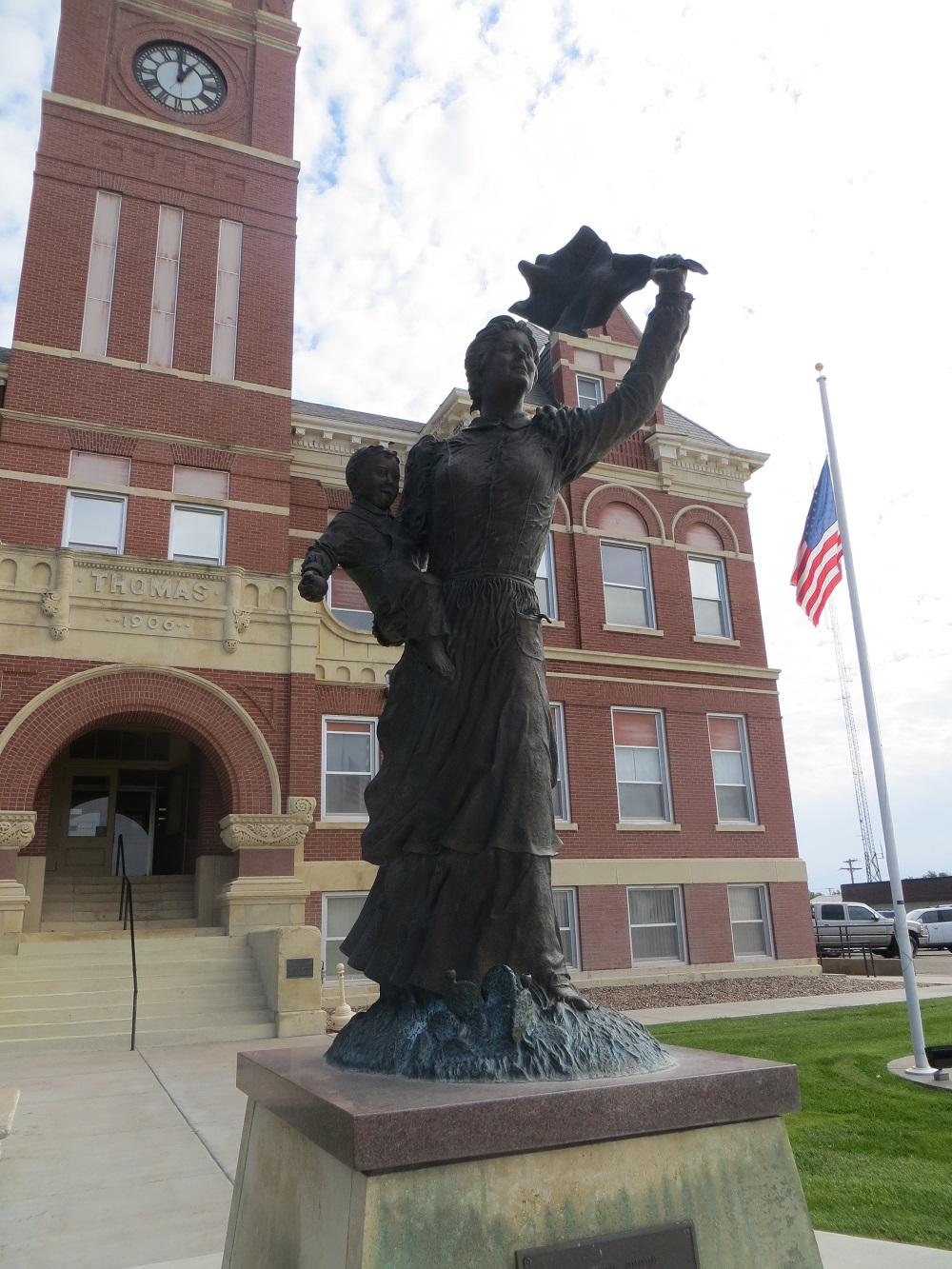 Spirit of the Prairie statue