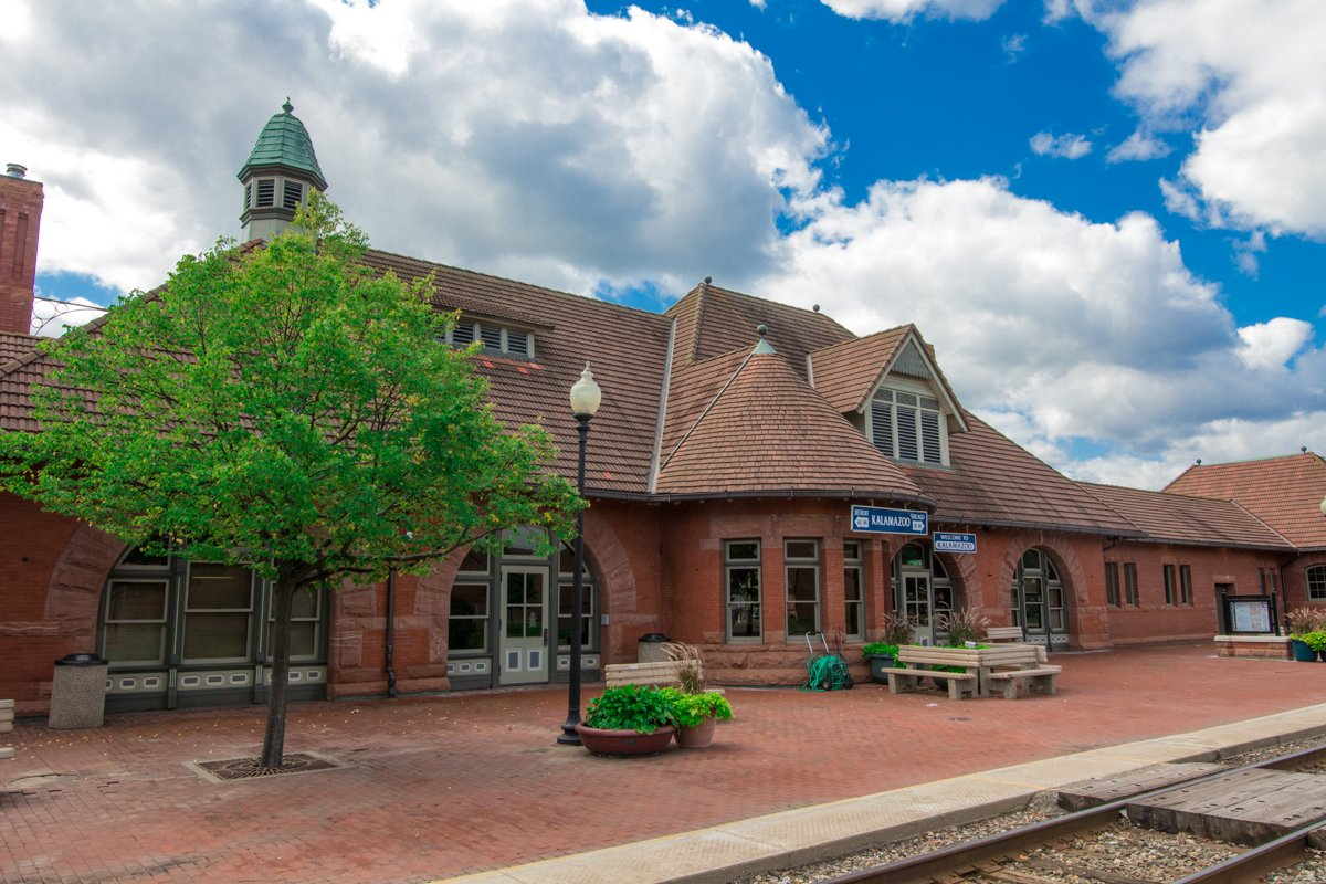 Kalamazoo Transportation Station, as it looks today