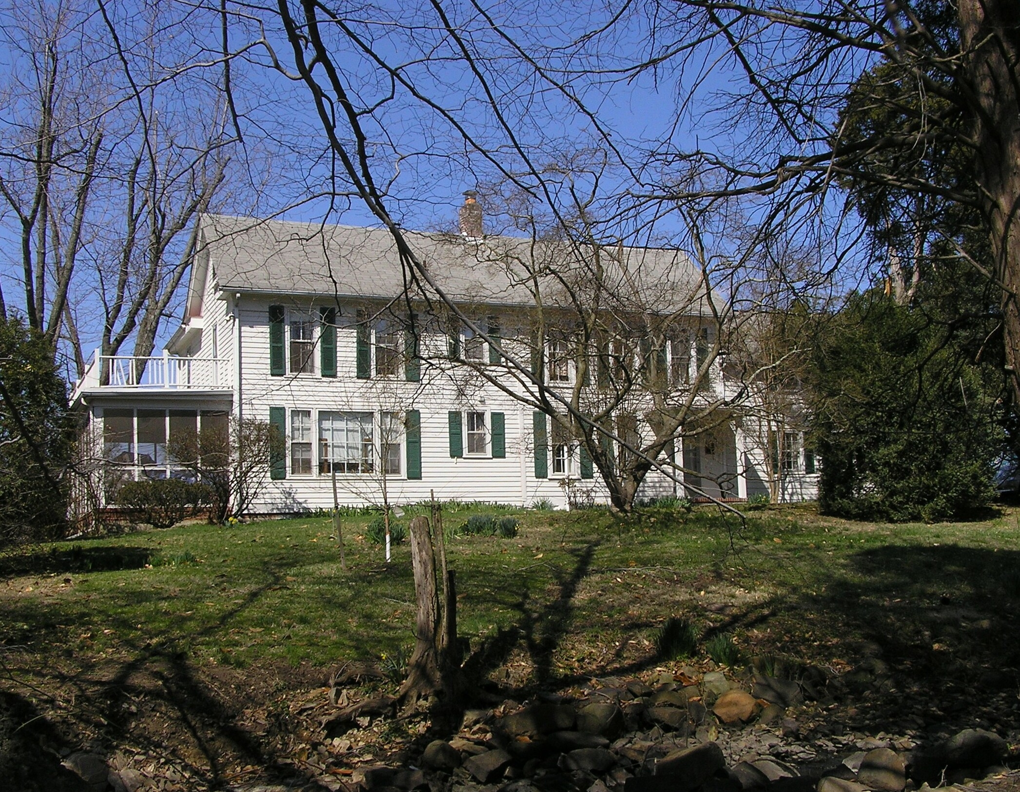 Merrybrook in March 2010
