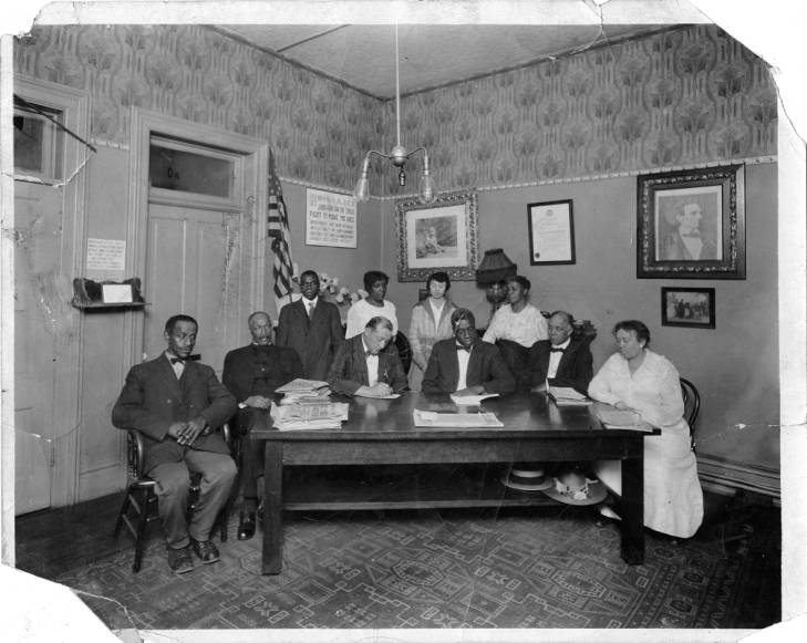 NAACP meeting held at the dental office
