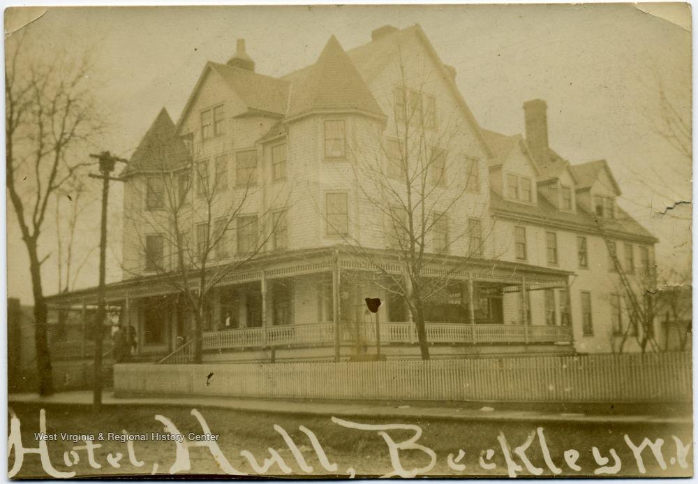 Hull Hotel, circa 1890-1900