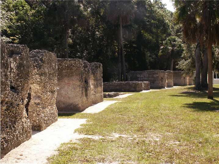 Slave Quarters. The State of Florida bought the plantation in 1955 and opened it as a state historic site.