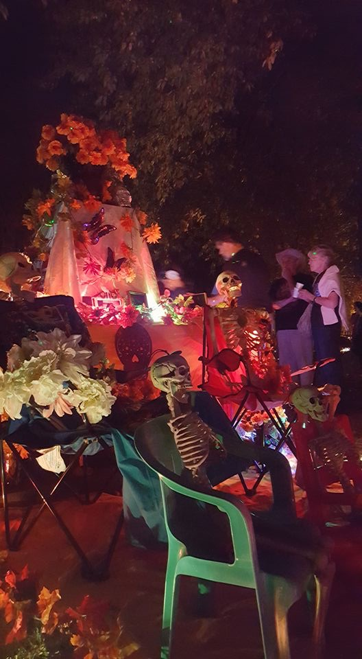 Further Dia de los Muertos Celebration Day in The Old Episcopal Burying Ground