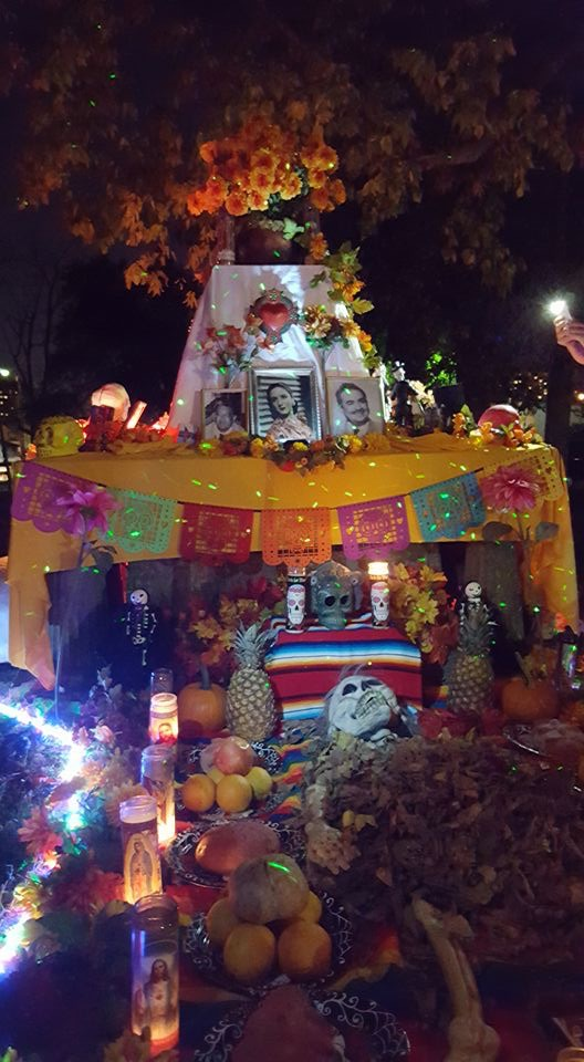 Alternate Dia de los Muertos Celebration Day in The Old Episcopal Burying Ground