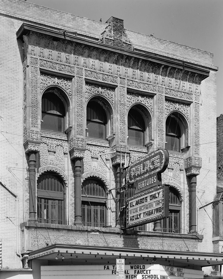 The Palace Theater opened in 1914.