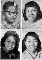 The children that died as a result of the 1963 bombing.