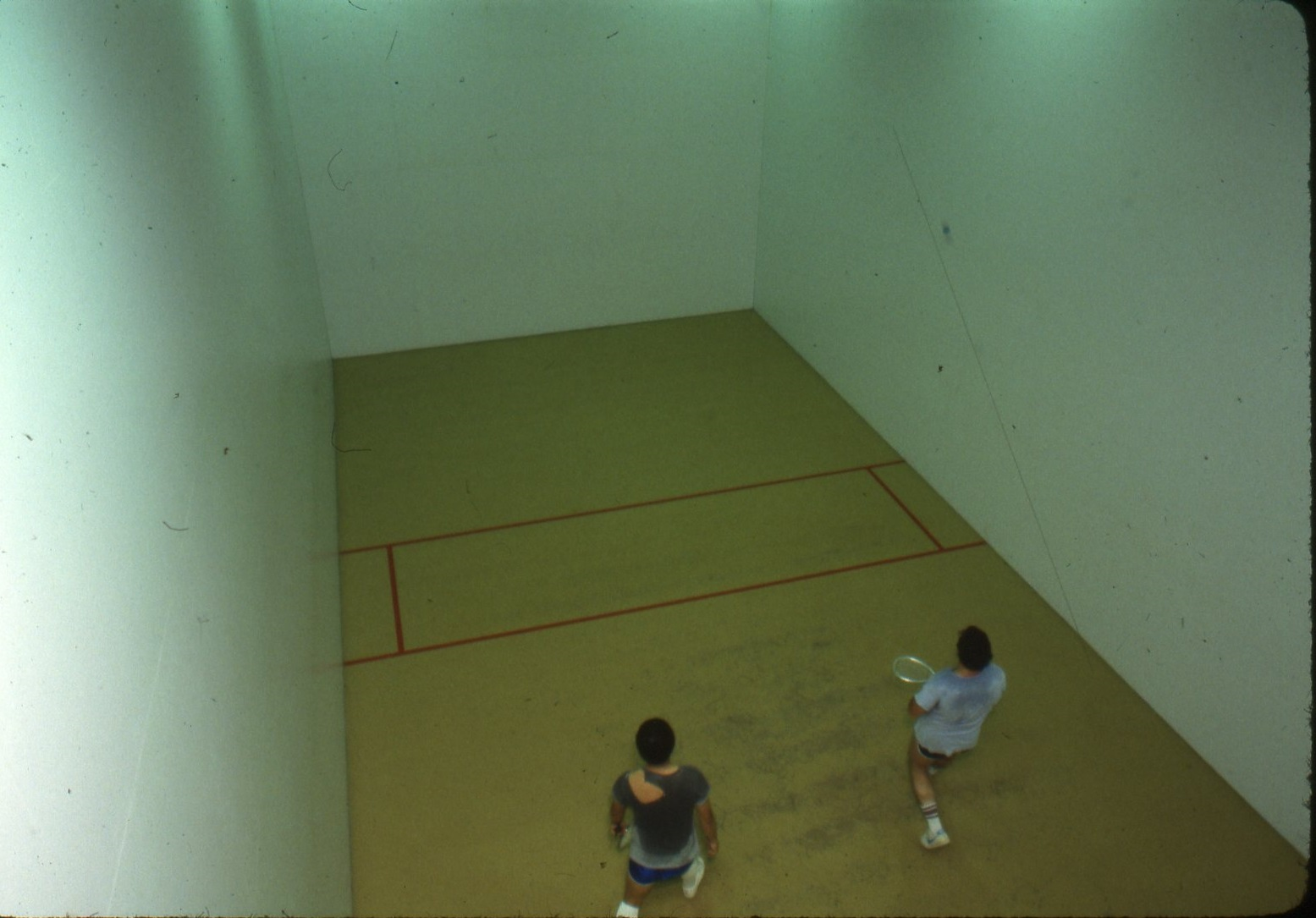 Racquetball Court in Maggs, 1980s