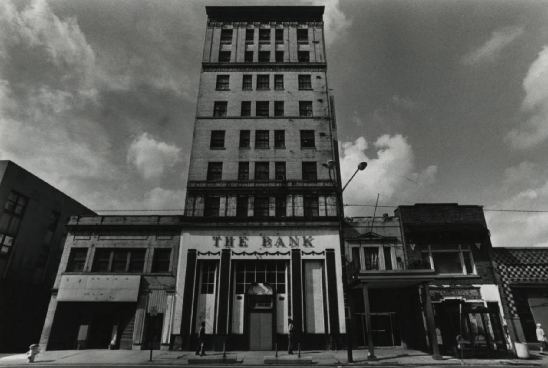 The Anthony Wayne Hotel with the Bank on the ground floor.