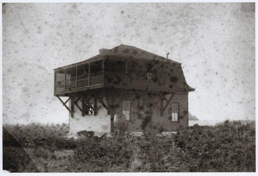 The studio as it looked c. 1885.