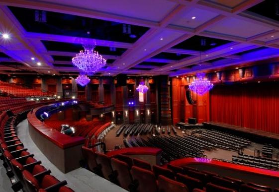 Fillmore Theater Interior