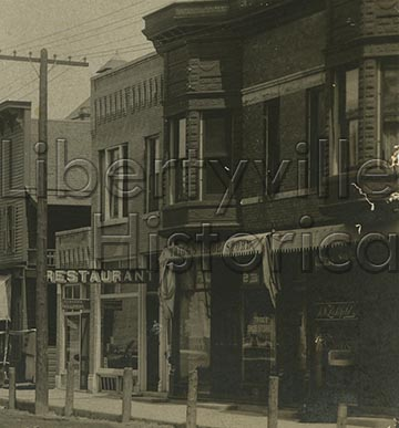 Close up of Hanby Building, before 1907