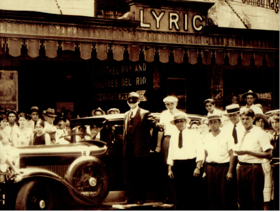 Lyric Theater in the mid-1920s. Photo from Fran Klaus.