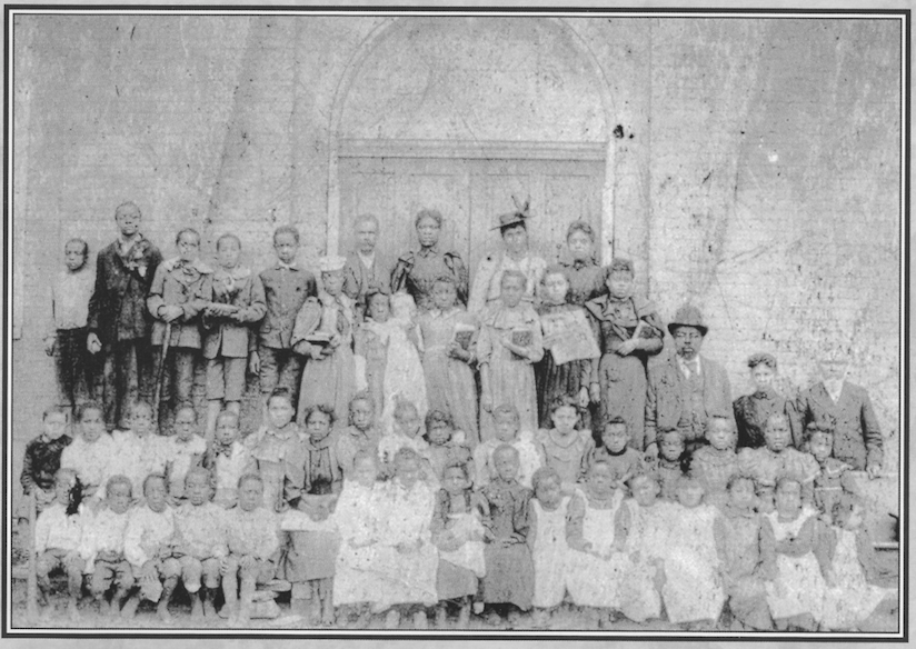 Shorter Chapel Sunday School class, perhaps taken upon the dedication of the sanctuary in 1873.