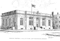 The Indiana Football HOF in Richmond