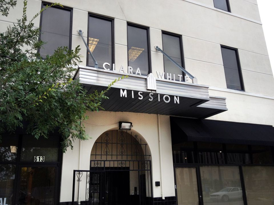 The Clara White Mission in Jacksonville. (Photo by Stacey Singer)