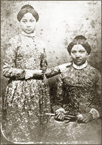 The Edmondson Sisters were another focus of Stowe's novel. Both were bought in the slave trade by Joseph Bruin.