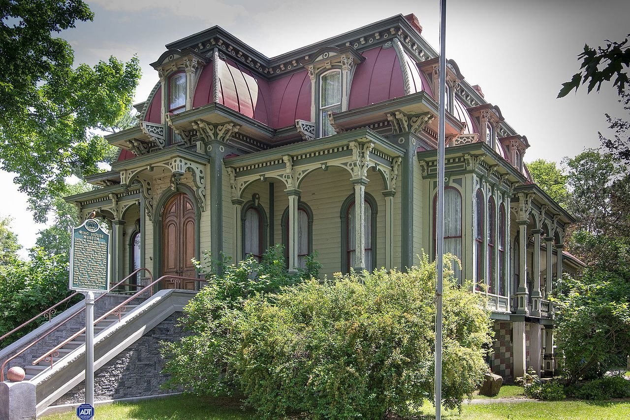 The Wing House Museum is a major landmark in Coldwater and is open to the public year round.